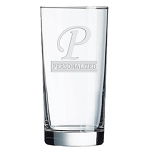Aristocrat Executive Cooler Bar Glass 15 oz Engraved Monogram